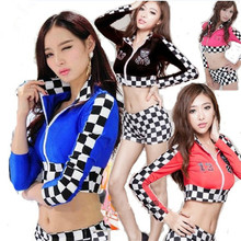 jazz dance costumes sexy costumes locomotive cheerleader costume woman performance costumes women dance wear(China)