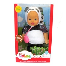 38cm little panda baby Little Mommy baby doll Fragrant Boneca doll toy figure toy