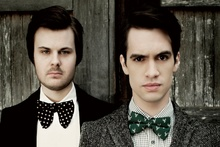 panic at the disco brendon urie spencer smith music band members KA861 living room home wall modern art decor wood frame poster