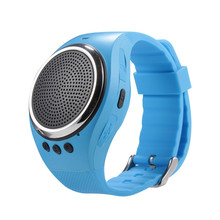 New RS09 Running Music Smart Bracelet Portable Dual Bluetooth Stereo Speaker Pedometer for IOS Android Phone Smart Watch