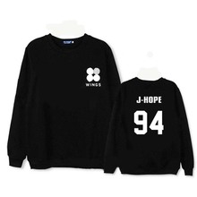 Sweatshirts  BTS Bangtan Boys WINGS Hoodie fleeces coat long sleeve Hoody