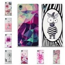 For Case Sony Xperia Z3 Cover Soft TPU Silicon Cases 3D Pattern Phone Back Case For Sony Xperia Z3 D6603 D6643 D6653 Coque Funda(China)