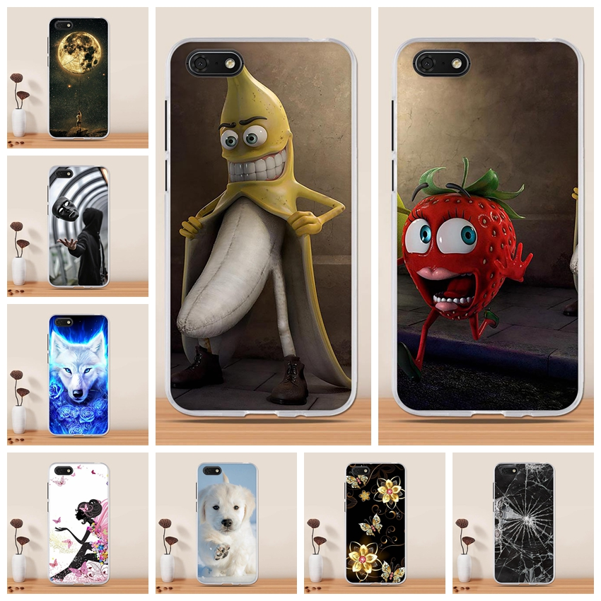 For Huawei Y5 2018 Case Cover Silicone Soft TPU Funda Coque for Huawei Y5 Prime 2018 / Honor Play 7 / Honor 7s Phone Case Cover