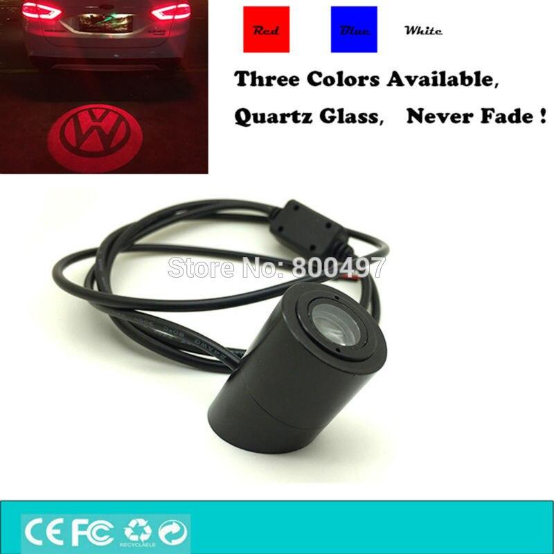 Car LED Tail Logo Light Rear Anti-Collision Signal Warning Lamp for VW Volkswagen Golf Polo Up! Jetta Passat CC Tiguan Touareg<br><br>Aliexpress