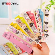 1 X Sticky Memo Pad Kawaii Stationery Cartoon Animals Pages Marker Memo Bookmark for Kids Escolar School Supplies(China)