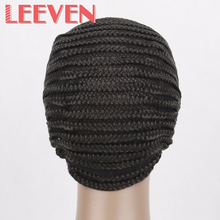 3Pcs/Lot Black Color Adjustable Strap Elastic Mesh 70g/Pcs Wig Glueless Liner Crochet Wig Cap High Quality Wholesale Price(China)