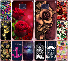 Newer Print Beautiful Flower Rose Peony Tulip Fish Swan Hood Phone Cases Covers For Samsung Galaxy S2 SII i9100  Case Shell