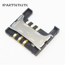 10pcs/lot For Samsung SII S2 i9100 i9188 i9108 sim card holder reader tray socket slot Sim reader replacement connector.(China)