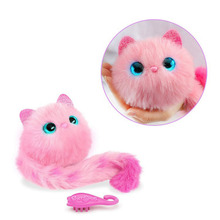 New pattern Surprise Pomsies Cat Plush Interactive Toys Pomsies Wrapples Electronic Toys For Children(China)