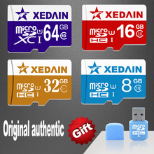 100% Original XEDAIN Brand Extreme UHS-1 U3 New Version Micro SD Memory Card 8GB/16GB/32GB/64GB TF Best Choice For Smartphone