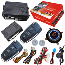 cardot push button start stop system remote start stop by alarm remote supporting petrol&diesel mode arm or disarm car engine(China)
