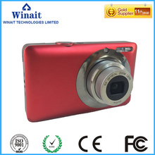 "Stock Promotion 16Mp Max 1280x720P HD Video Digital Camera Digital Camcorder 5X Optical Zoom 2.7"" Screen 5Mp Sensor Li-Battery"