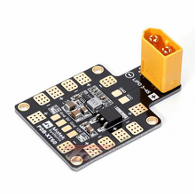 Free Shipping 3A Upgraded Matek Systems Power Distribution Board PDB-XT60 with 5V & 12V BEC for RC Muliticopter(China)