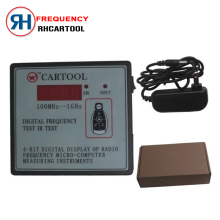 2017 Newly arrived Frequency tester can test Car IR infrared remote key (frequency range 100-1000MHZ) with free shiping