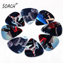 SOACH wholesale 50PCS 1.0mm exquisite nice sex car model high quality The Model Mix guitar picks(China)