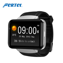 "2.2"" 900mAh Android Smart Watch Phone DM98 support Trump Video Facebook Whatsapp Youtube ect App PK TICWATCH 2 KW88 a1 Fashion"