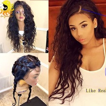 Glueless Silk Top Full Lace Wigs Wet Wavy Silk Base Full Lace Human Hair Wigs For Black Women Brazilian Silk Top Lace Front Wigs