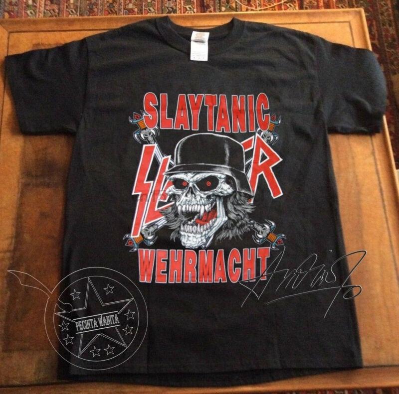 Slayer Slaytanic Wehrmacht Metal Band Retro New T-Shirt S-6XL