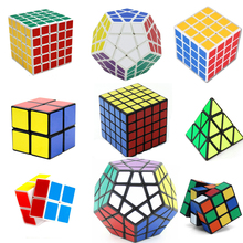 2017 Megaminx Magic Cube Square Puzzle Speed Sticker Cubes Educational Stress Reliever Fidget Toy for Children Boys 2/3/4/5