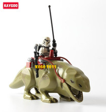 Kaygoo Star Series Space War Building Blocks Dewback Desert Storm soldiers troopers figures toys Kids Action Figure gift(China)