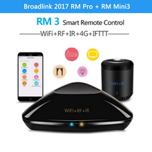 Buy Broadlink 2017 RM Pro RM Mini3 Smart Home Automation WIFI+IR RF Universal Remote Controller Intelligent ios Android for $19.38 in AliExpress store