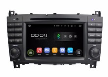 "1024*600 Quad Core 2 din 7"" Android 5.1 Car dvd gps for Mercedes Benz C Class W203 CLC G Class W467 With BT Radio USB 16GB ROM(China)"