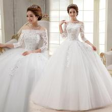 cheap stock ivory wedding dresses brides dresses floor length corset bridal gown made in china under