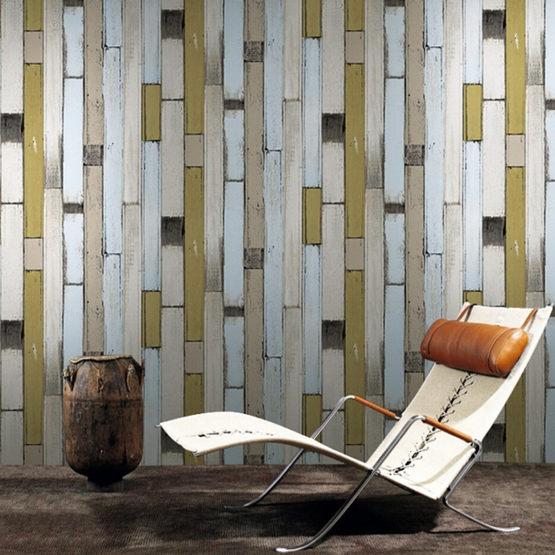 Beibehang wallpaper 3d Simple Mediterranean imitation wood 3d wallpaper living room TV backdrop wallpaper fashion  wallpaper<br>