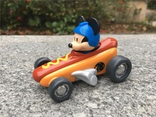 TT03 -- Original Mickey e Os Pilotos do Mickey Hot Diggity Dogster Roadster Diecast Metal Toy Car New Solto