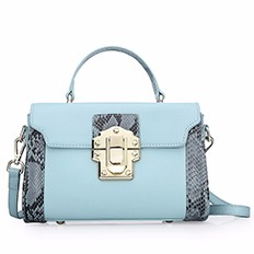 MiiKLN Panelled Red Black Blue Genuine Leather Flap Bags For Women Small Hanbag Bag Shoulder Crossbody Ladies Fashion Bags