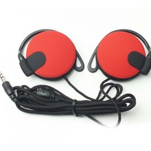 Headphone 3.5mm Ear Hook Headset Earphone For Mp3 Player Computer Mobile Phone Earphones Wholesale With Factor Price