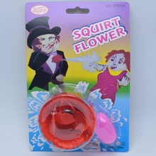 1PCS 2017 New  Magic Trick Funny Joke Prank Toys Water Squirt Rose Clown Flowers Tricky Toys Squirt Flower rose Water Flowers