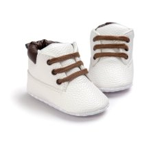 Baby Shoes Boys Toddler Soft Sole Crib Slip-On Lace Up Pre-walker Infant Shoes First Walker