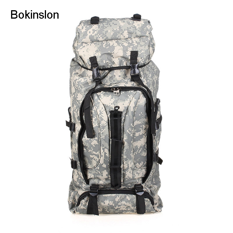 Bokinslon Fashion Mens Backpack Large Capacity Retro Backpack Male Classic Nylon Brand Mans Backpack<br>