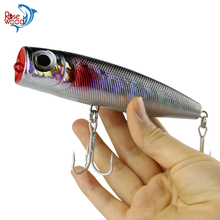 RoseWood NEW 130mm/50g Popper Fishing Lure Big Game Saltwater Sea Fishing Lure Wobblers Lure Plastic Lure Isca Artificial Pesca