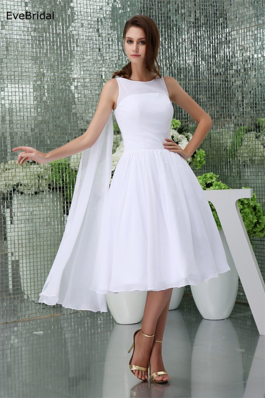 Online get cheap bridesmaid dresses with tea length wedding dress chiffon a line high neck sleeveless tea length bridesmaid dresses wedding party dresses robe de soiree ombrellifo Images