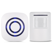 Wireless PIR Motion Sensor Doorbell 38 Chimes Volume Adjustment Long Transmission Range Door Bell