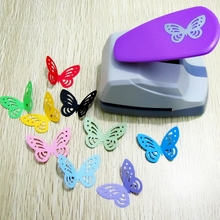 33x45mm big size hollow out design cute butterfly shape DIY craft punch save effort type scrapbooking hooby use cards cutters
