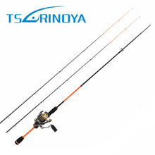Trulinoya 1.8M 85g 2 Tips(L/UL) Spinning Fishing Rod Lure:1-7g/2-8g Line:2-8lb SIC Guides And ACS Reel Seat Carbon Rods(China)