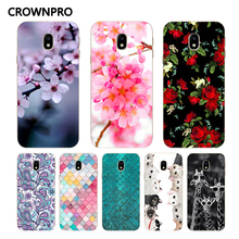 Buy CROWNPRO Soft Silicone FOR Capa EU Samsung Galaxy J7 2017 Case Cover J730 Phone TPU Painted Back FOR Capa Samsung J7 2017 Case for $1.12 in AliExpress store