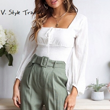 Buy Peasant Blouse And Get Free Shipping On Aliexpress Com