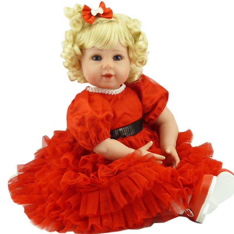 Girl Reborn Doll 52cm Soft Silicone Reborn Baby Dolls Toys 20inch Baby Dolls Lifelike Newborn Babies Toys Brinquedos Baby Alive<br><br>Aliexpress