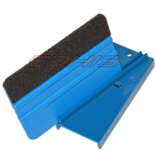 EHDIS Blue Window Tinting Hard Card Sharpener window tint tool squeegee skiving knife plastic card squeegee sharpener tool CN005(China)