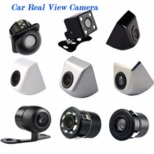 Car Camera with Front and Rear View Function both Mini Waterproof for Parking Black / White / Chrome / Silver Color HD CCD Wire