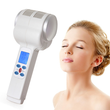 Ultrasonic Hot Cold Hammer Beauty Machine Lymphatic Face Skin Massager Ultrasound Cryotherapy Facial Body Beauty Salon Equipment
