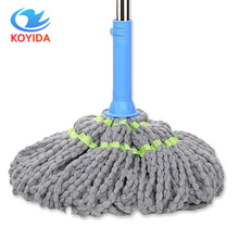 KOYIDA Cleaning Tools Rotary Spin Twist Rotating Mop with Cotton Yarn Head for Housekeeper Home Floor Cleaning Rapid dehydration