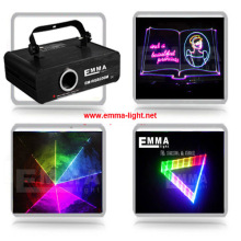 1w rgb laser beam and animation ,DMX ,party light/KTV light/laser projector/stage lights/emma laser