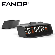 EANOP i-Smart HUD A100 Head up display Car detector Speed projector OBD2 Speedometer Car alarm for Toyota ford Starline(China)