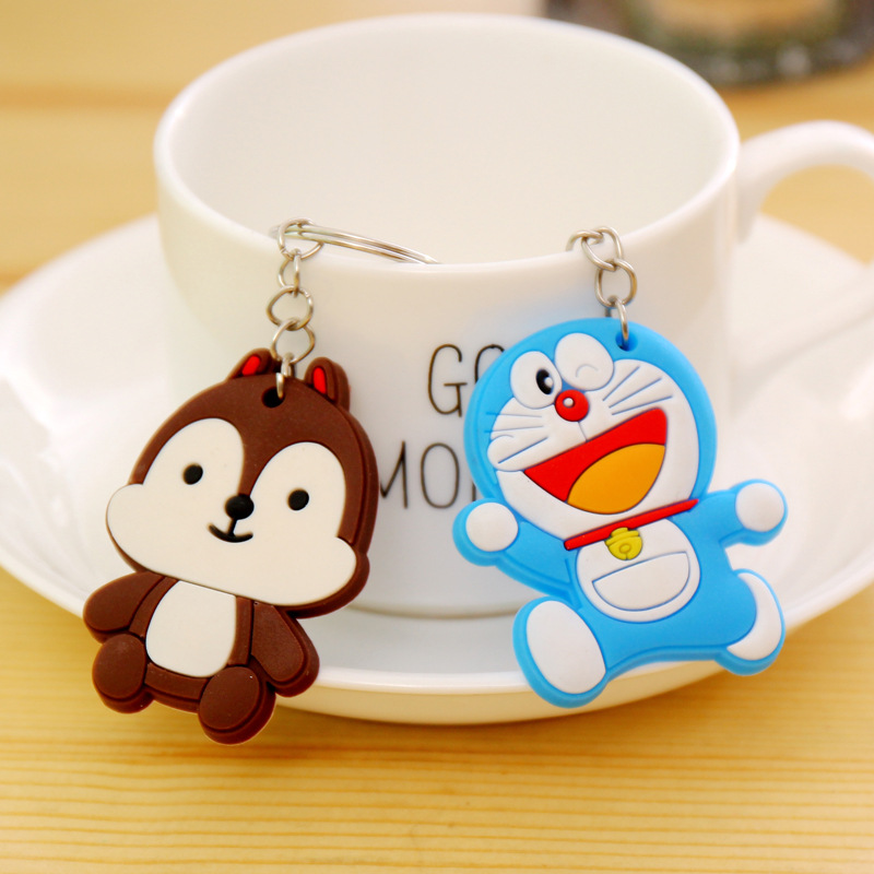 1PCS-Lovely-Animal-Cartoon-The-Avengers-Hello-Kitty-Silicone-Key-ring-Keychain-Backpack-Accessories-Key-chains (1)