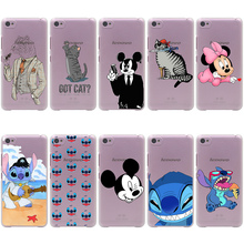 Animals Tiger Mickey Stitch Hard Transparent Cover Case for Lenovo S850 90 60A536 328&Nokia 535 630 730 640 XL&Sony Z2 3 4